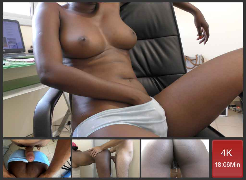 Ebony Bitch Fucked Hard